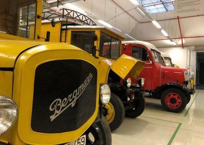 Elektro Fahrzeuge_Depot_Heusenstamm © Museum fuer Kommunikation Frankfurt Joel Fischer