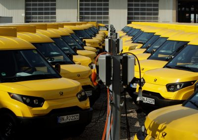 Elektrofahrzeuge © Deutsche Post DHL Group