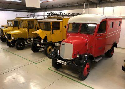 Fahrzeuge_Depot_Heusenstamm © Museum fuer Kommunikation Frankfurt Joel Fischer